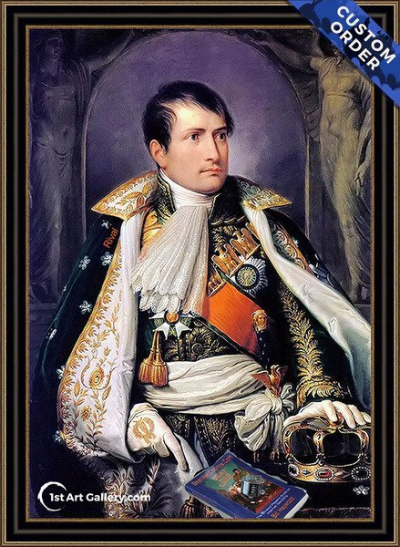 Napoleon Painting by Andrea Appiani - Original Painting