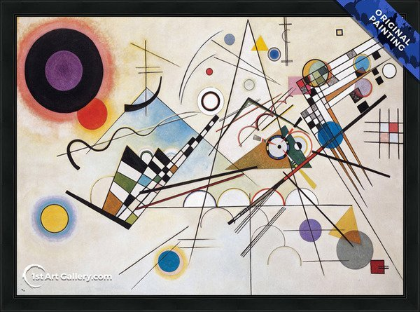 Composition VIII Painting by Wassily Kandinsky - Original Painting
