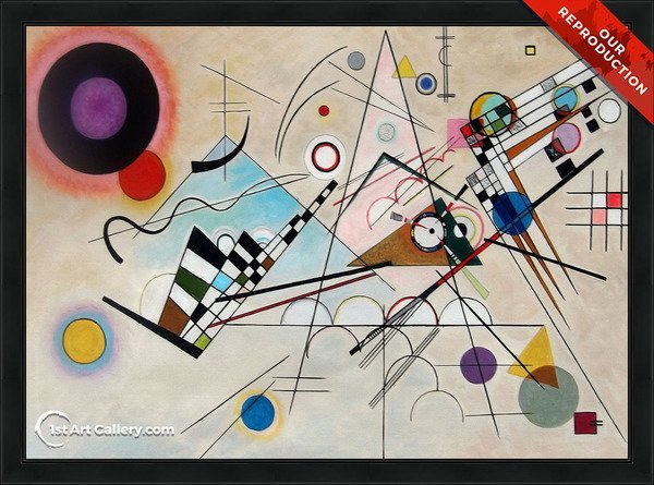 Composition VIII Painting by Wassily Kandinsky - Oil Reproduction