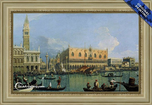 Ducal Palace, Venice Painting - Original Painting