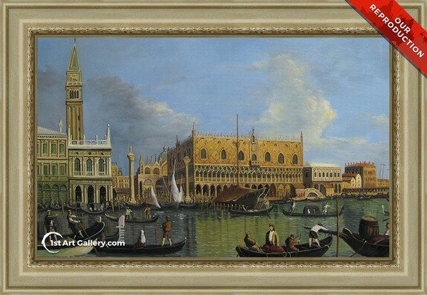 Ducal Palace, Venice Painting - Oil Reproduction