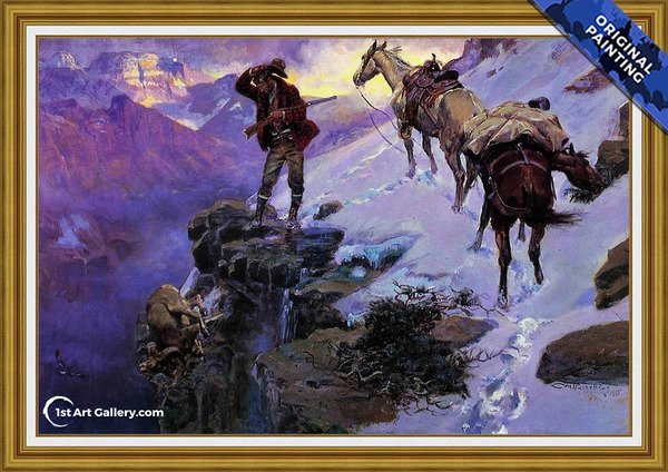 965823f9dcd Charles Marion Russell Painting Reproductions For Sale