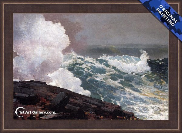Northeaster Painting by Winslow Homer - Original Painting