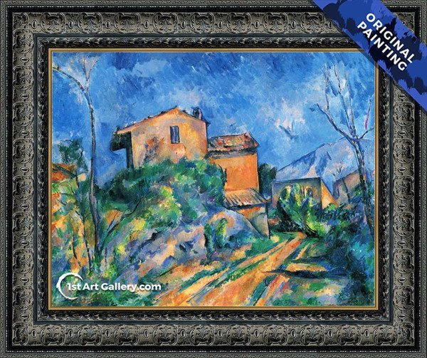 Painting by Paul Cezanne - Original