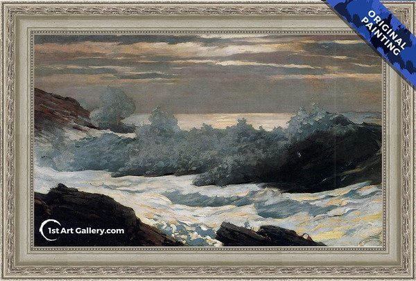 Early Morning, After a Storm at Sea Painting by Winslow Homer - Original Painting