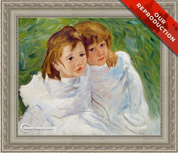 The Sisters, c.1885 Painting by Mary Cassatt - Oil Reproduction
