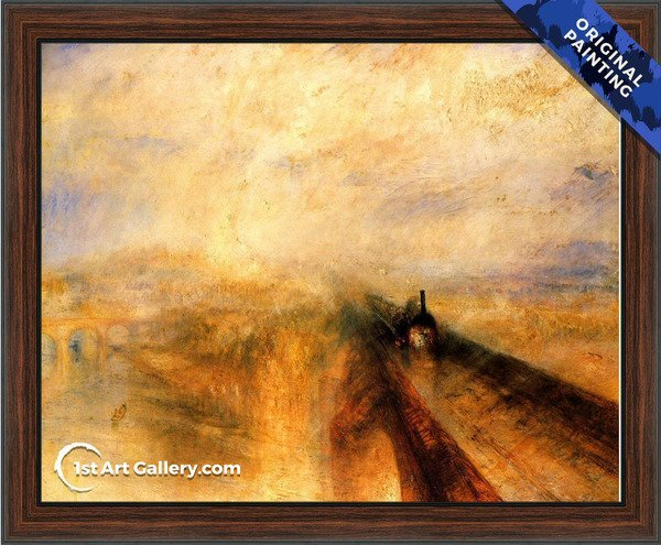 Rain, Steam and Speed The Great Western Railway Painting - Original Painting