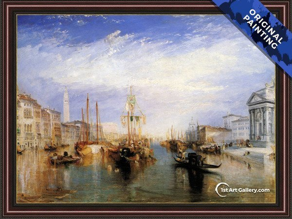 The Grand Canal, Venice 1835 Painting by Turner - Original Painting