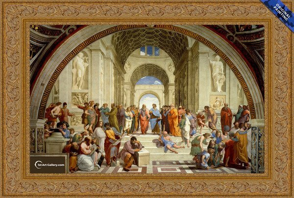 The School of Athens Painting by Raphael - Original Painting