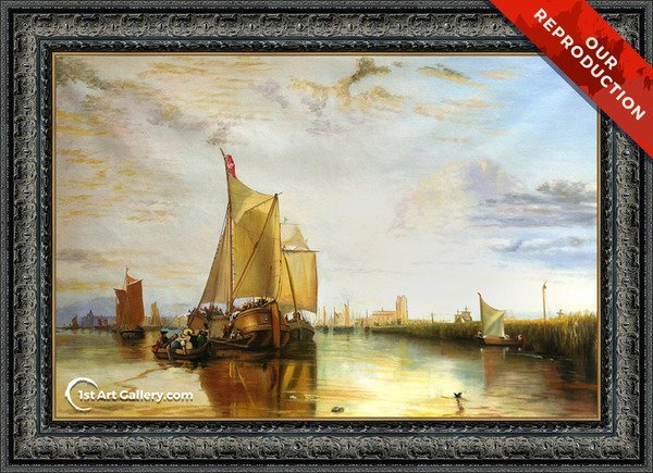 Dort The Dort Packet Boat From Rotterdam Bacalmed Painting - Oil Reproduction