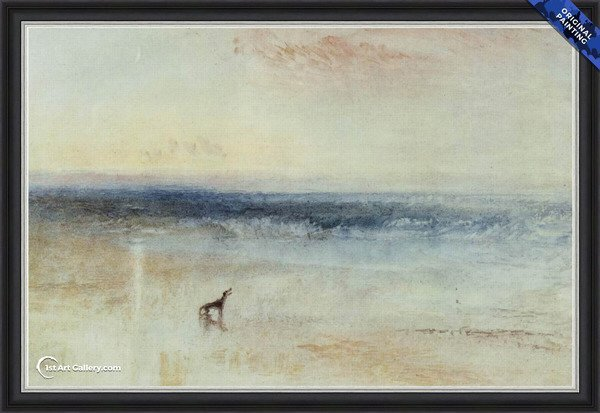 The tomorrow after the shipwreck Painting by Turner - Original Painting