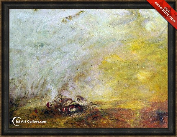 Sunrise with Sea Monsters Painting by Turner - Oil Reproduction