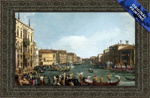 A Regatta on the Grand Canal Painting - Original Painting