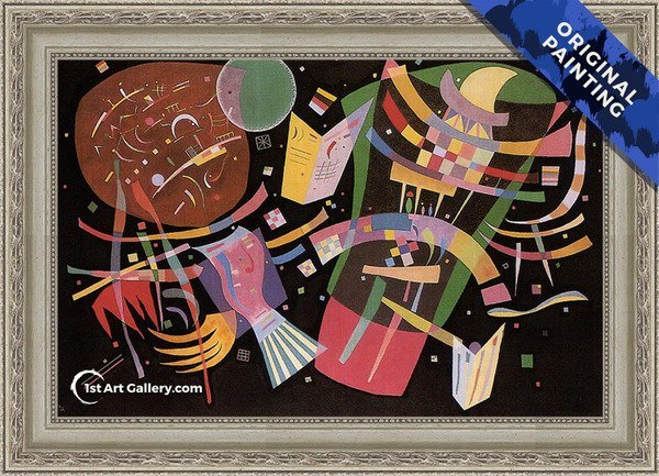 Composition X Painting by Wassily Kandinsky - Original Painting
