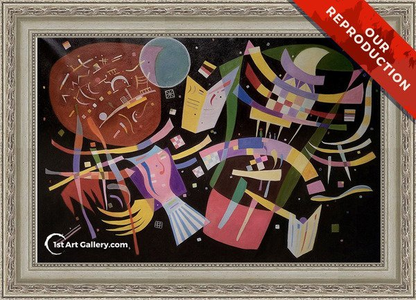 Composition X Painting by Wassily Kandinsky - Oil Reproduction