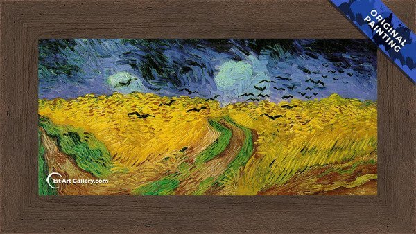 Wheat Field With Crows Painting by Van Gogh - Original Painting