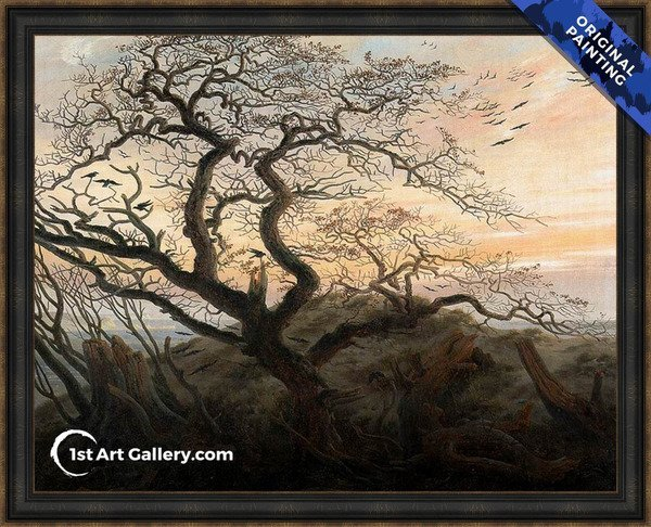 The Tree of Crows Painting - Original Painting