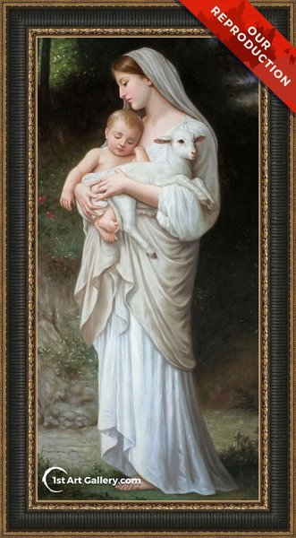 L'innocence Painting by William-Adolphe Bouguereau - Oil Reproduction