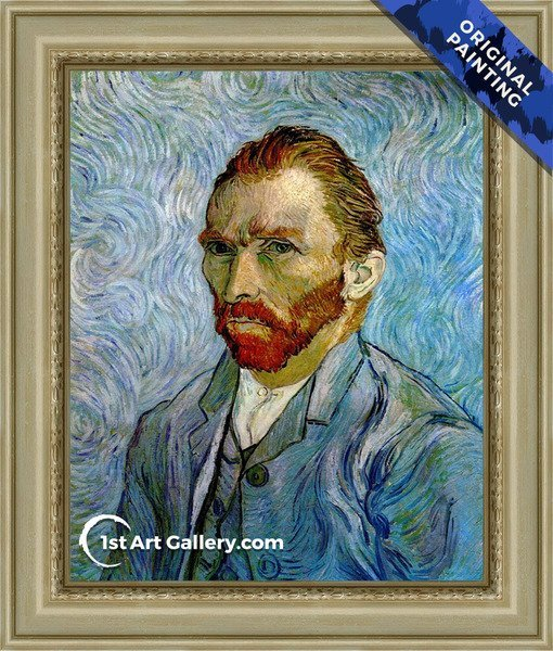 Self Portrait III Painting by Van Gogh - Original Painting