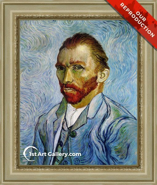 Self Portrait III Painting by Van Gogh - Oil Reproduction