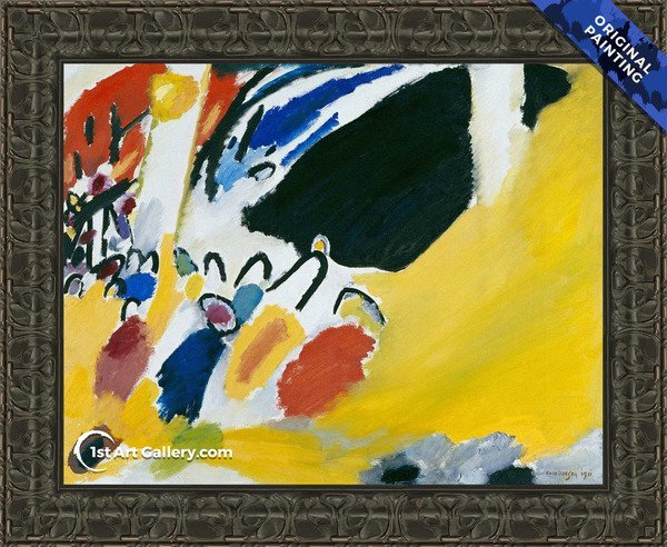 Impression III Concert Painting by Wassily Kandinsky - Original Painting