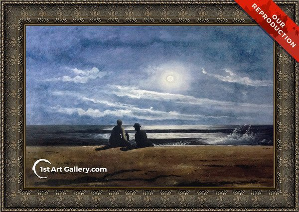 Moonlight Painting by Winslow Homer - Oil Reproduction
