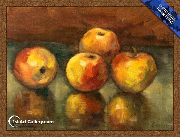 Apples Painting by Stefan Luchian - Original Painting