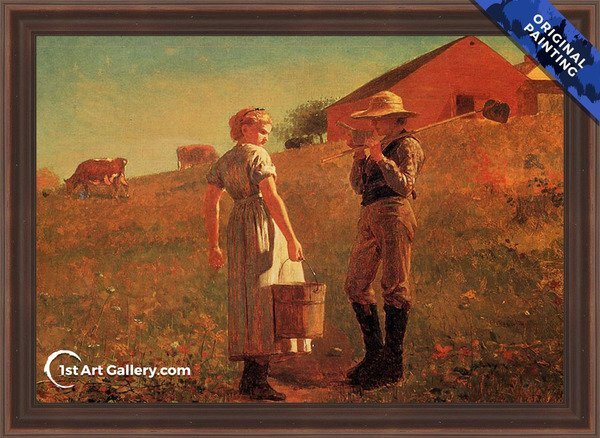 A Temperance Meeting Painting - Original Painting