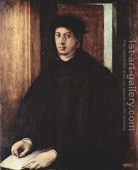 Alessandro de' Medici 1534-35 by (Jacopo Carucci) Pontormo - Reproduction Oil Painting