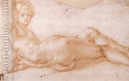 Hermaphrodite Figure 1538-43 by (Jacopo Carucci) Pontormo - Reproduction Oil Painting