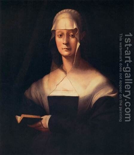 Portrait of Maria Salviati by (Jacopo Carucci) Pontormo - Reproduction Oil Painting