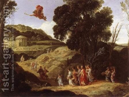 Mercury and Herse c. 1618 by Jacob Pynas - Reproduction Oil Painting