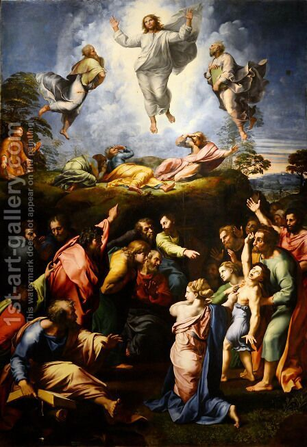 The Transfiguration by Raphael - Reproduction Oil Painting