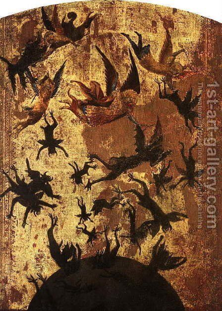 The Fall of the Rebel Angels by Master of the Rebel Angels - Reproduction Oil Painting