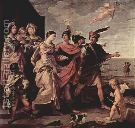 The Rape of Helena 1631 by Guido Reni - Reproduction Oil Painting