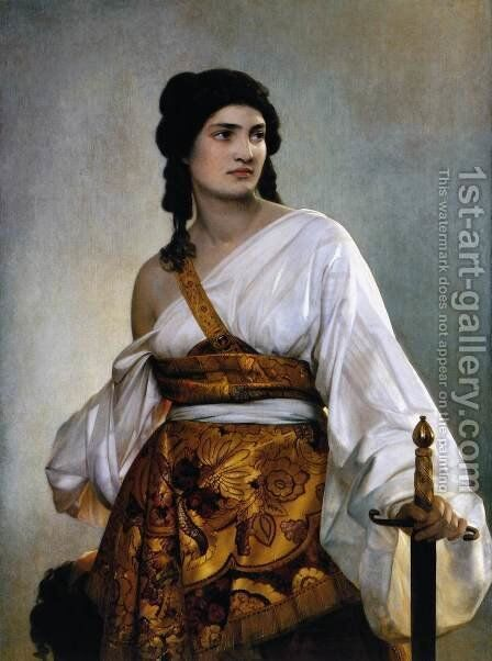 Judith 1840 by August Riedel - Reproduction Oil Painting