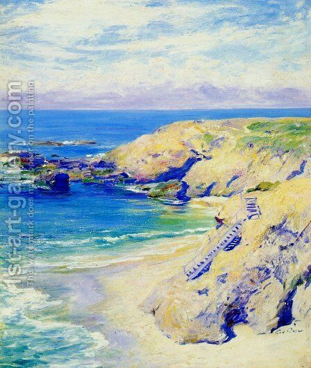 La Jolla Cove by Guy Rose - Reproduction Oil Painting