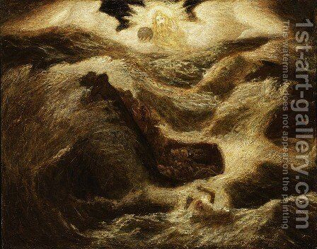 Jonah by Albert Pinkham Ryder - Reproduction Oil Painting