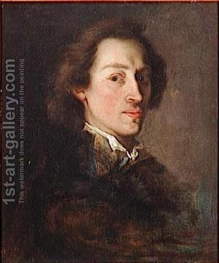 Portrait of Frederic Chopin by Ary Scheffer - Reproduction Oil Painting