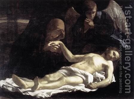 Pieta 1621-25 by Massimo Stanzione - Reproduction Oil Painting