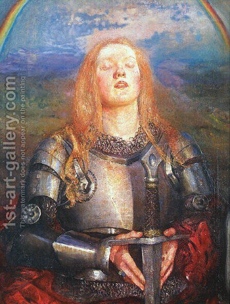 Joan of Arc by Annie Louise Swynnerton - Reproduction Oil Painting