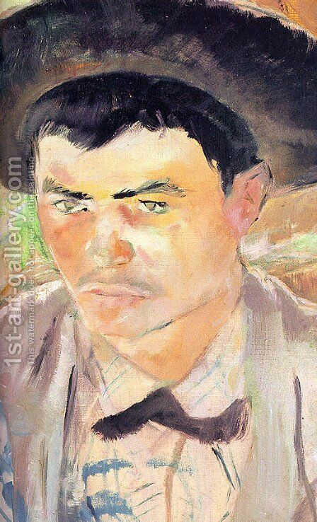 Young Routy (detail) 1883 by Toulouse-Lautrec - Reproduction Oil Painting
