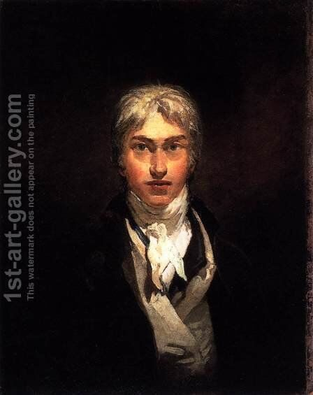 Self-Portrait c. 1799 by Turner - Reproduction Oil Painting