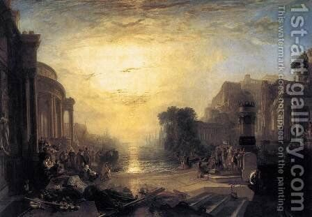 The Decline of the Carthaginian Empire 1817 by Turner - Reproduction Oil Painting