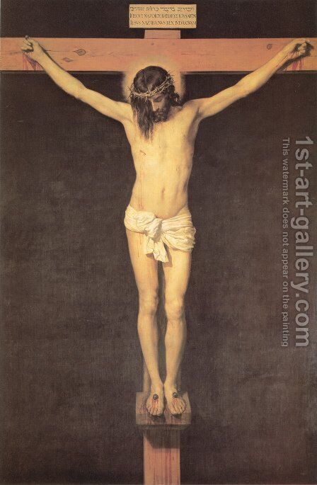 Christ on the Cross 1632 by Velazquez - Reproduction Oil Painting