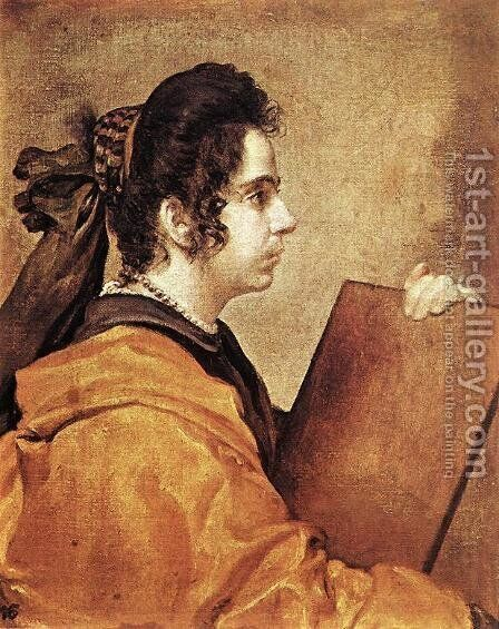 Sibyl c. 1632 by Velazquez - Reproduction Oil Painting