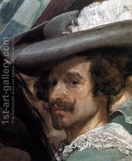 The Surrender of Breda (detail-5) 1634-35 by Velazquez - Reproduction Oil Painting