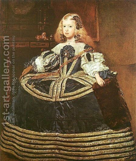 The Infanta Margarita 1659 by Velazquez - Reproduction Oil Painting
