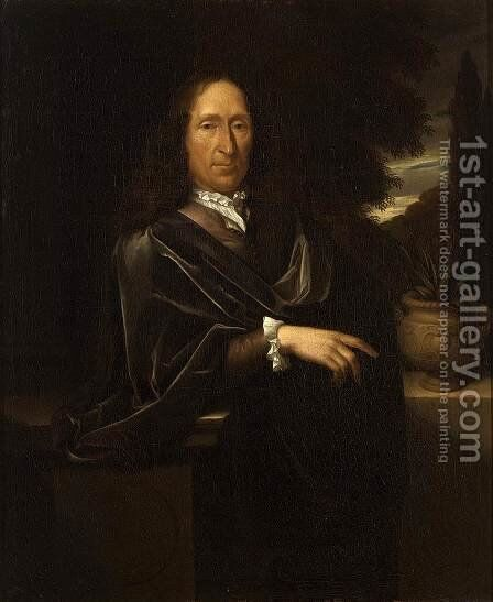 Portrait of a Gentleman 1700 by Pieter van der Werff - Reproduction Oil Painting