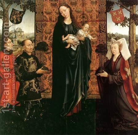 The Gift of Kalmthout 1511 by Goossen van der Weyden - Reproduction Oil Painting